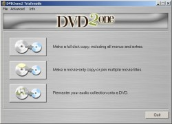 DVD2one screenshot