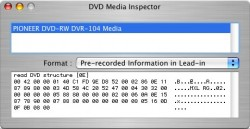 DVD Media Inspector screenshot