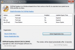 DVDFab Passkey screenshot 2
