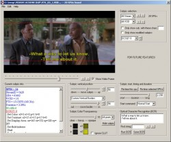 DVDSubEdit screenshot