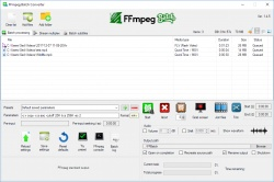 FFmpeg Batch Converter screenshot