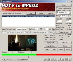 HDTVtoMPEG2 screenshot