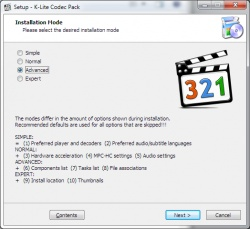 K-Lite Codec Pack screenshot