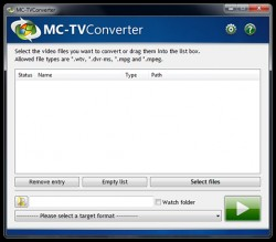 MC-TVConverter screenshot