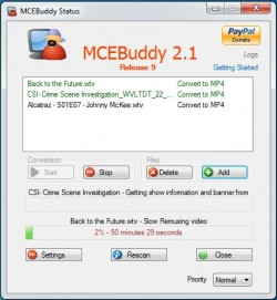 MCEBuddy screenshot