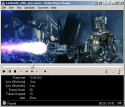 Media Player Classic screenshot