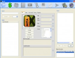 MetaX screenshot