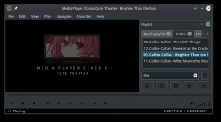 Media Player Classic Qute Theater screenshot