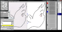 OpenToonz screenshot 2