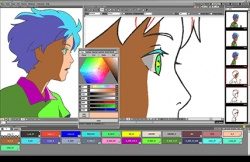 OpenToonz screenshot 3
