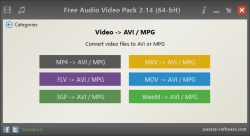 Pazera Free Audio Video Pack screenshot 3