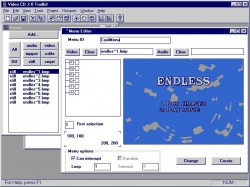Philips VideoCD Toolkit screenshot