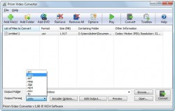 Prism Video Converter screenshot