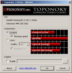 Toponoky screenshot
