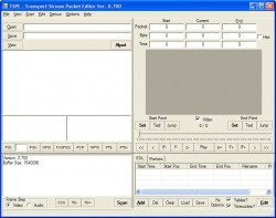 Transport Stream Packet Editor screenshot