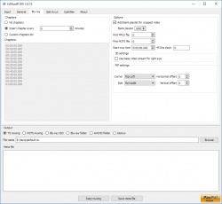 tsMuxeR screenshot 2