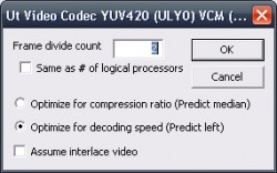 Ut Video Codec Suite screenshot