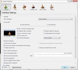 VLC media player screenshot 2