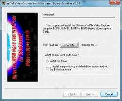 btwincap WDM Video Capture Driver screenshot