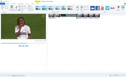 Windows Movie Maker screenshot