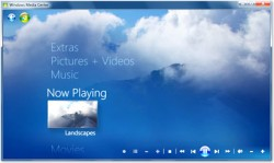 Windows Media Center screenshot