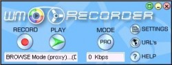 WM Recorder screenshot