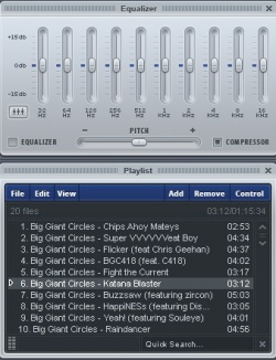 Xion Audio Player screenshot 2