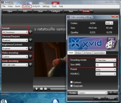 XviD4PSP screenshot 3