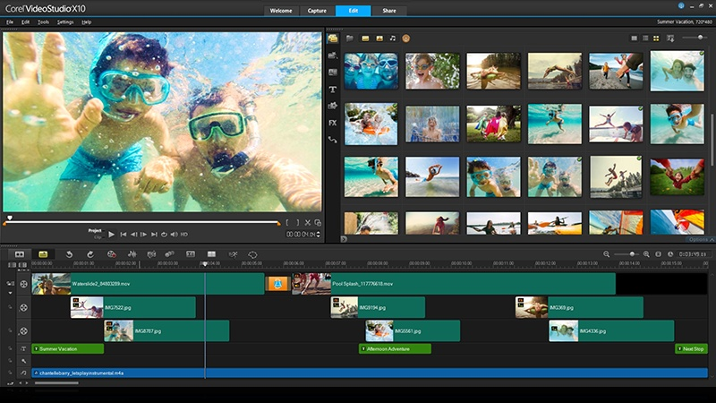 free corel video studio templates - videostudio pro x8
