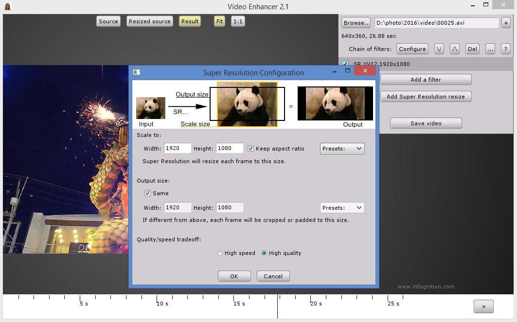 Video Enhancer Version History - VideoHelp