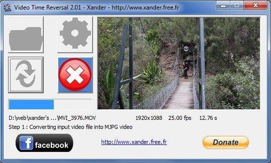 XANDER VIDEO REVERSAL TÉLÉCHARGER TIME