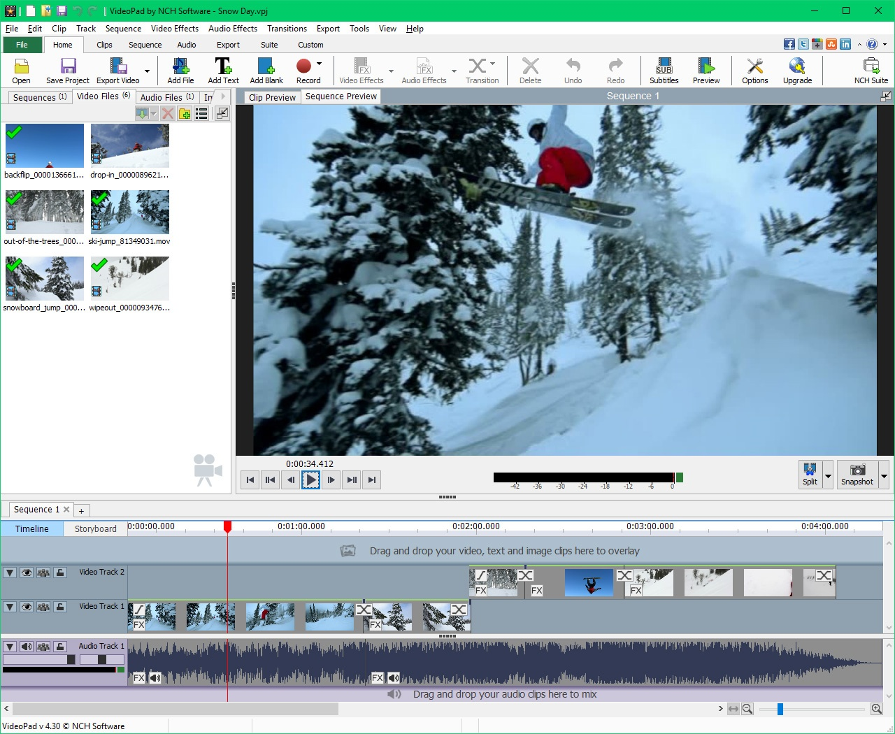 VideoPad Video Editor 10.21 Free Download - VideoHelp
