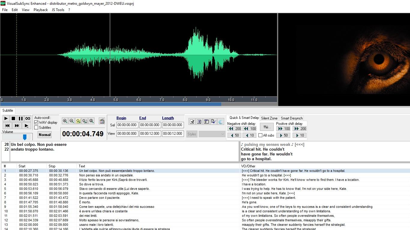VisualSubSync Enhanced 1 2 31 Free Download - VideoHelp