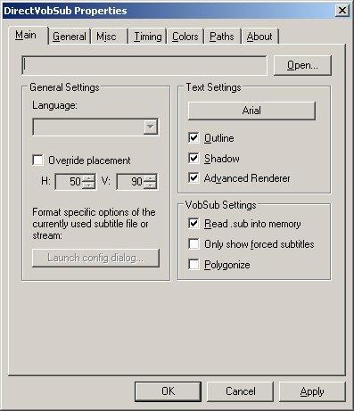 vobsub pour windows 7