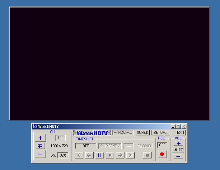 WatchHDTV 1 961 Free Download - VideoHelp