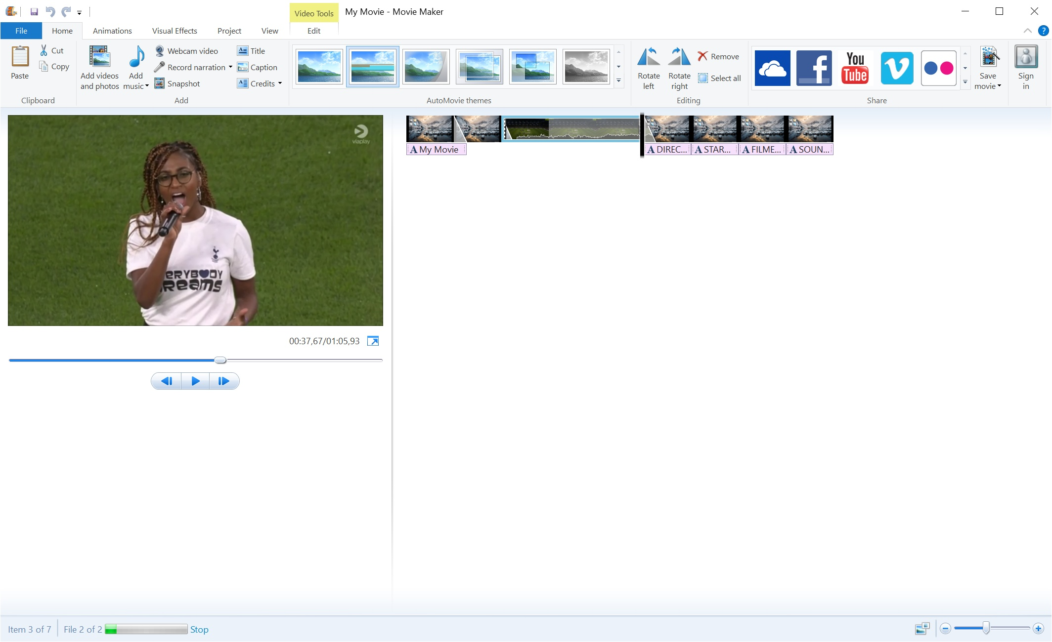 Windows Movie maker 2.0