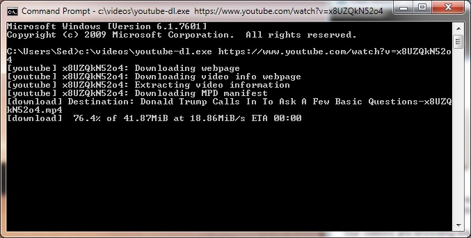youtube-dl 2019.03.18 Free Download - VideoHelp 383106107ca