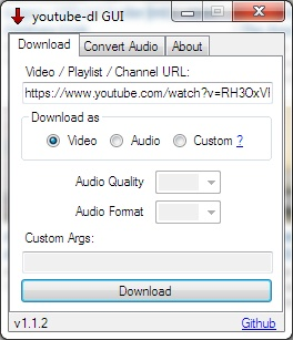 youtube-dl-gui 2 12 Free Download - VideoHelp
