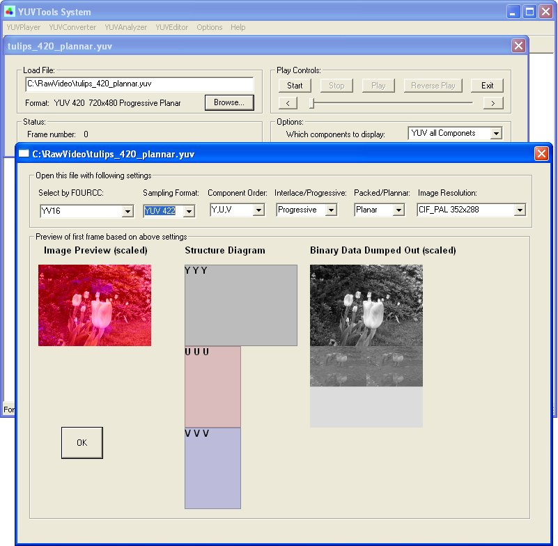 YUVTools 3 0 892 Free Download - VideoHelp
